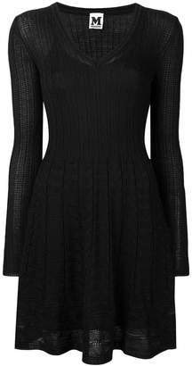 M Missoni jacquard knitted dress