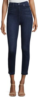 7 For All Mankind Women's High-Waist Skinny Jeans