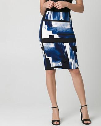 2e5b5b52e Navy And White Pencil Skirt - ShopStyle Canada