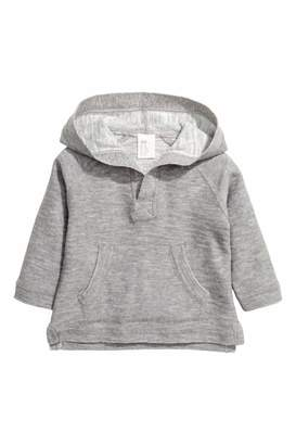 H&M Hooded Cotton Sweater