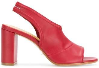 MM6 MAISON MARGIELA peep toe slingback sandals
