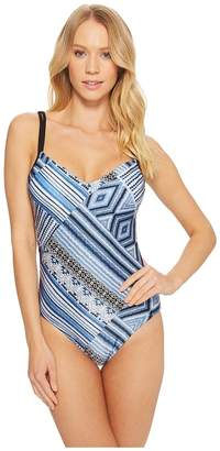 Seafolly Desert Tribe Sweetheart Maillot One-Piece Women's Swimsuits One Piece