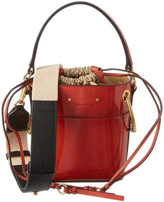Chloé Roy Mini Patent Bucket Bag