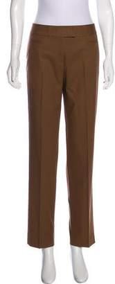 Lafayette 148 High-Rise Straight-Leg Pants