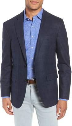 Rodd & Gunn Dannevirk Ghost Check Stretch Wool Blend Blazer
