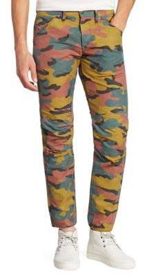 G StarG-Star RAW Straight-Fit Camo Printed Jeans
