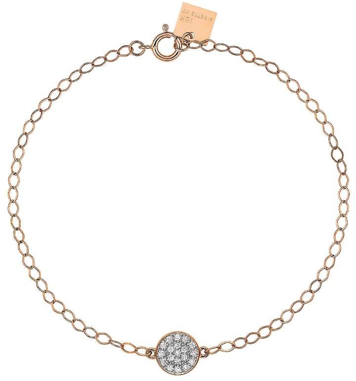 ginette_ny Mini Diamond Ever Disc Bracelet