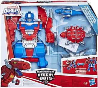 Transformers Playskool Heroes Rescue Bots Knight Watch Optimus Prime