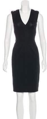 Burberry Sleeveless Knee-Length Dress