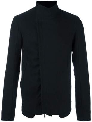 Masnada asymmetric high standing jacket