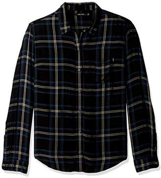 Obey Junior's Ammalyn Button Down Plaid Shirt