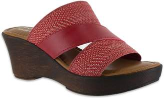 305ca6185ed7 at Kohl s · Easy Street Shoes Tuscany by Positano Women s Wedge Sandals