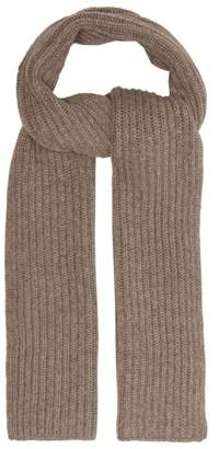 Thom Sweeney - Ribbed Cashmere Scarf - Mens - Grey