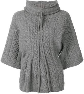 Stella McCartney aran knit top