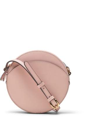Banana Republic Italian Leather Circle Crossbody Bag