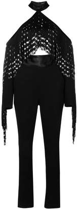 David Koma fringed top jumpsuit
