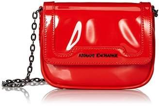 a459c16f56c Armani Exchange A X Small Patent Crossbody Bag