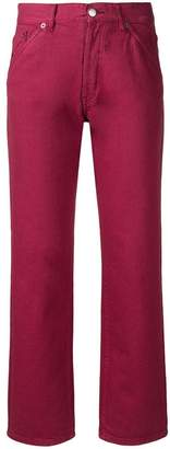 Jacquemus high waist straight-leg jeans