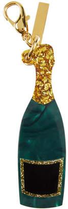 Champagne Bottle Bag Charm