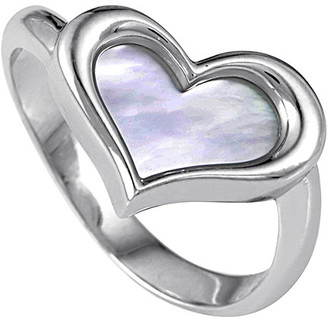 Mother of Pearl Heritage Piaget Piaget 18K Mother-Of-Pearl Heart Ring