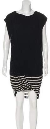 Jean Paul Gaultier Striped Mini Dress