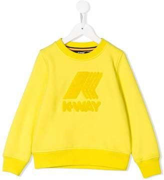K Way Kids logo hoodie
