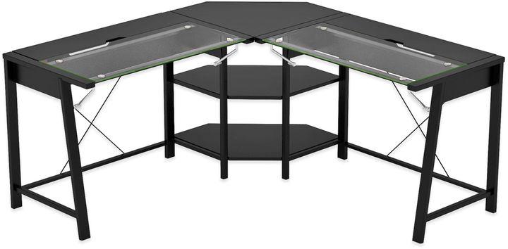 Bed Bath & BeyondZ-Line Designs Vance L Desk in Black