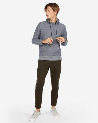 Express Funnel Neck Fleece Hoodie