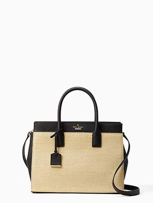 Kate Spade Cameron street straw candace satchel