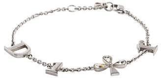 Christian Dior Crystal Station Bracelet