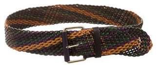 Linea Pelle Woven Waist Belt w/ Tags