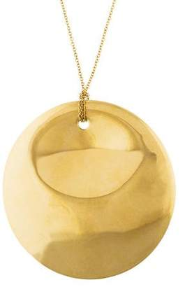 Tiffany & Co. 18K Round Pendant Necklace