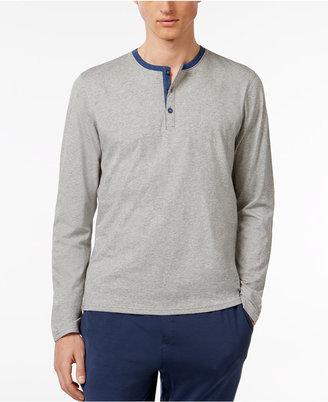 Bar III Men's Cotton Henley Pajama Top $35 thestylecure.com
