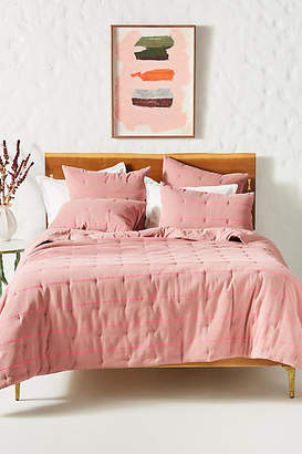 Anthropologie Woven James Quilt