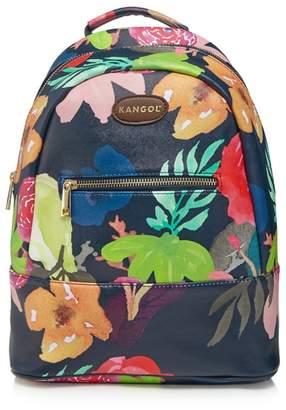 Kangol Multi-Coloured Floral Print Backpack