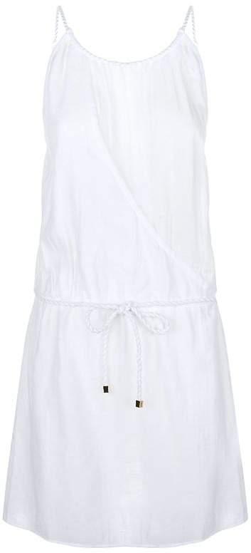 Twisted Strap Mini Dress