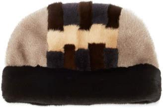 Albertus Swanepoel Zig Zag Mink Hat