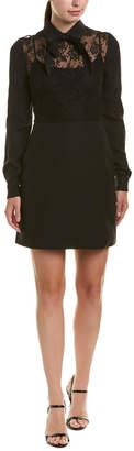 Valentino Wool & Silk-Blend Sheath Dress