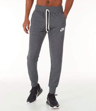 Nike Men's Sportswear Heritage Club Cuffed Jogger Pants