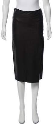 Ji Oh Knee-Length Pencil Skirt