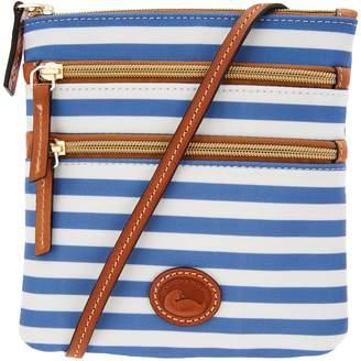 Dooney & Bourke Nylon North/South Triple Zip Crossbody Bag