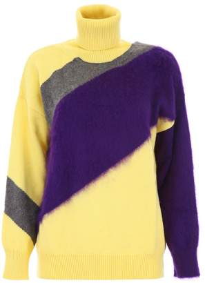 N°21 Colorblock Pullover