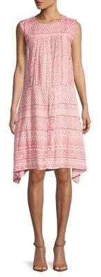 Antik Batik Printed Sleeveless A-Line Dress