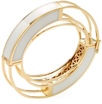 Eddie Borgo Women's Circle Frame Bangle Bracelet