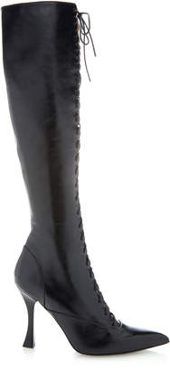 Brock Collection Tabitha Simmons for Lace Up Tall Boots