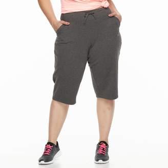 Tek Gear Plus Size Straight-Leg Skimmer Capris