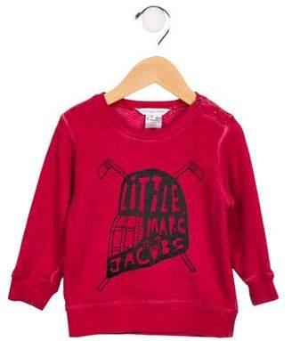 Little Marc Jacobs Boys' Printed Crew Neck Sweatshirt