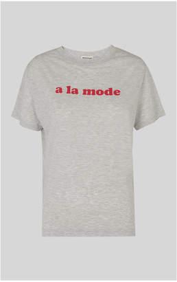 Whistles A La Mode Logo Tshirt
