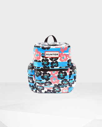Hunter Floral Stripe Top Clip Backpack