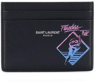 Saint Laurent Paradise Trip credit card case